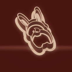 c1.png Download STL file cookie cutter stamp rabbit • 3D print template, nina_hynes
