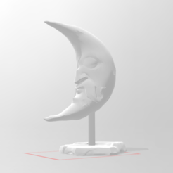 c1.png Download STL file moon statue • 3D print object, nina_hynes