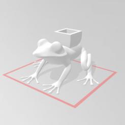 c1.png Download STL file frog pot • 3D printer model, nina_hynes