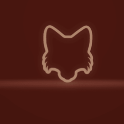c1.png Download STL file cookie cutter fox head • 3D printable design, nina_hynes
