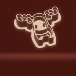 c1.png Download STL file cookie cutter stamp reindeer christmas set • 3D printable object, nina_hynes