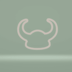 c1.png Download STL file cppkie cutter viking hat • 3D print model, nina_hynes