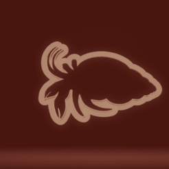 c1.png Download STL file cookie cutter hermit crab • 3D print template, nina_hynes