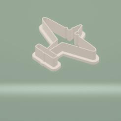 c1.png Download STL file cookie cutter plane set • 3D printable template, nina_hynes