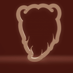 c1.png Download STL file cookie cutter santa beard • 3D printable object, nina_hynes