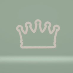 C1.png Download STL file cookie cutter crown • Template to 3D print, nina_hynes