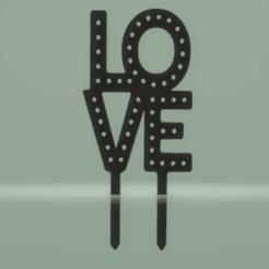 c1.png Download STL file cake topper love • 3D printing template, nina_hynes