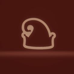 c1.png Download STL file cookie cutter elf hat • 3D printer model, nina_hynes