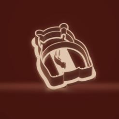 c1.png Download STL file cookie cutter stamp hippopotamus set • 3D printing design, nina_hynes