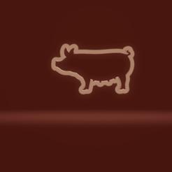 c1.png Download STL file cookie cutter pig • 3D printer model, nina_hynes