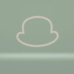 c1.png Download STL file cookie cutter bowler hat • 3D printer model, nina_hynes