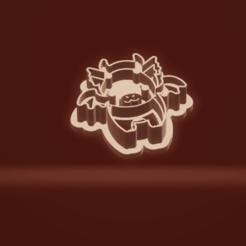 c1.png Download STL file cookie cutter stamp dragon set • 3D printer model, nina_hynes