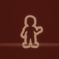 c1.png Download STL file cookie cutter boy & girl set • 3D printing design, nina_hynes