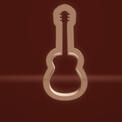 c1.png Download STL file cookie cutter acoustic guitar • Model to 3D print, nina_hynes