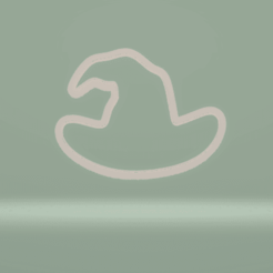 c1.png Download STL file cookie cutter witch hat • 3D printable template, nina_hynes