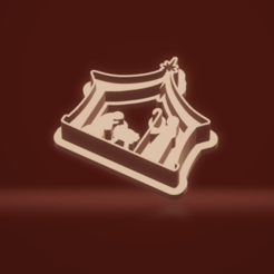 c1.png Download STL file cookie cutter stamp nativity scene Christmas • 3D printing model, nina_hynes