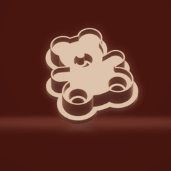c11.png Download STL file cookie cutter stamp bear • 3D printing template, nina_hynes