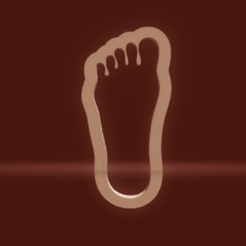 c1.png Download STL file cookie cutter foot • 3D printer model, nina_hynes