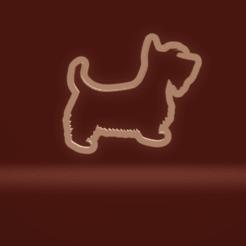 c1.png Télécharger fichier STL chien scottie à l'emporte-pièce • Objet pour imprimante 3D, nina_hynes