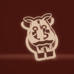 c1.png Download STL file cookie cutter stamp cow • 3D printer template, nina_hynes