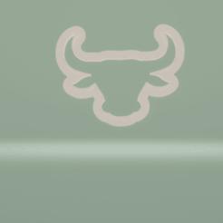 c1.png Download STL file cookie cutter bull head • 3D printer design, nina_hynes