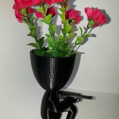 Descargar archivo 3D gratis Planta el jarrón del francotirador, autentico3d