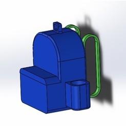 Télécharger fichier impression 3D modèle initial de sac à dos, mega_cat77
