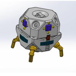 Télécharger plan imprimante 3D module spatial, mega_cat77