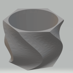 Télécharger objet 3D Vase Succulent, murielvr