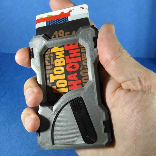IMG_20201219_182519.jpg Télécharger fichier STL Portefeuille du titulaire de la carte (paquet universel) • Objet à imprimer en 3D, safonovoa