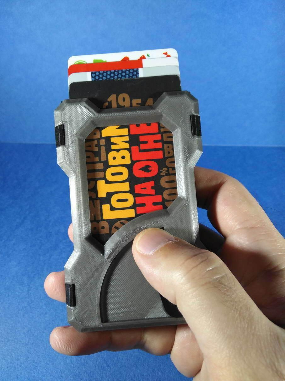 IMG_20201219_182512.jpg Télécharger fichier STL Portefeuille du titulaire de la carte (paquet universel) • Objet à imprimer en 3D, safonovoa
