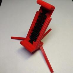 IMG_20190428_234027.jpg Télécharger fichier STL Support pliable pour téléphone • Objet imprimable en 3D, safonovoa