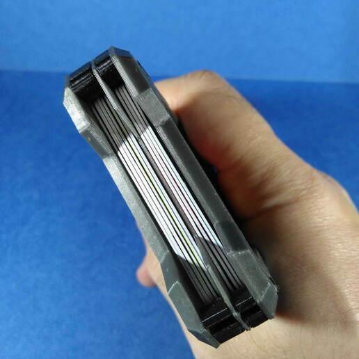 IMG_20201219_182536.jpg Télécharger fichier STL Portefeuille du titulaire de la carte (paquet universel) • Objet à imprimer en 3D, safonovoa