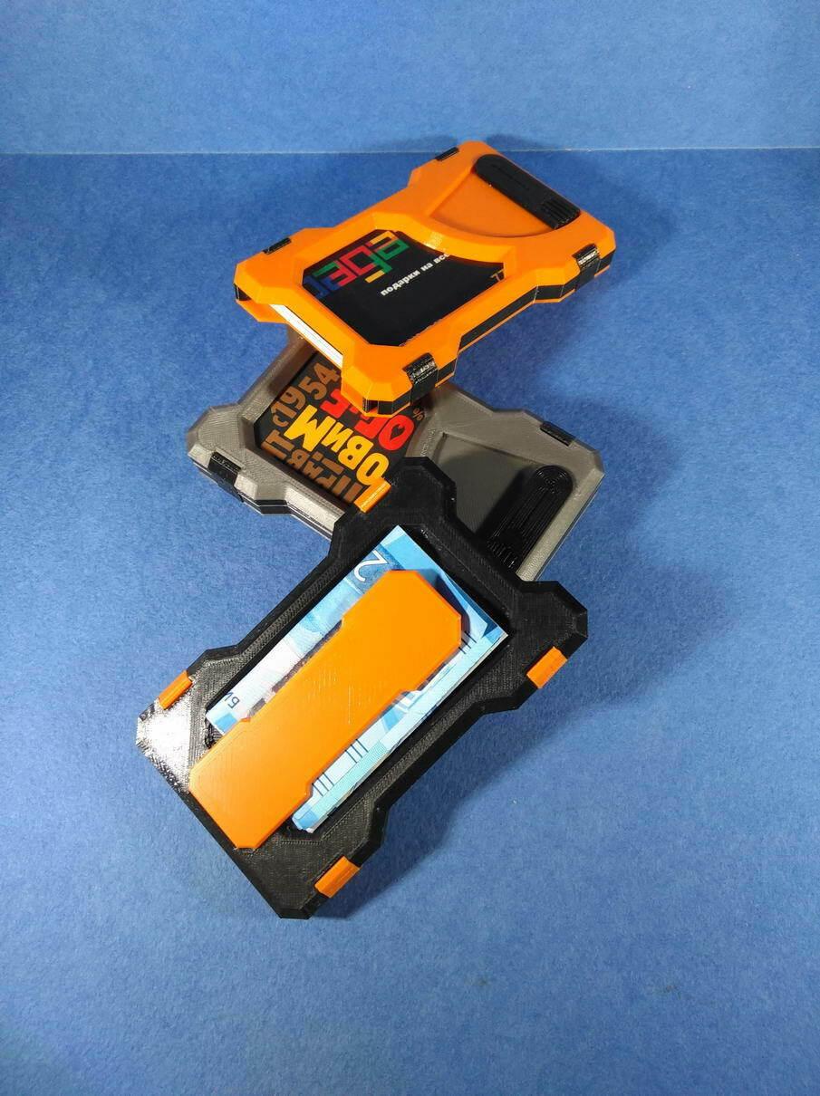IMG_20201219_182627.jpg Télécharger fichier STL Portefeuille du titulaire de la carte (paquet universel) • Objet à imprimer en 3D, safonovoa