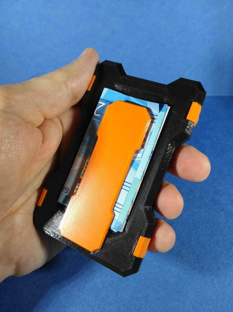 IMG_20201219_182453.jpg Télécharger fichier STL Portefeuille du titulaire de la carte (paquet universel) • Objet à imprimer en 3D, safonovoa