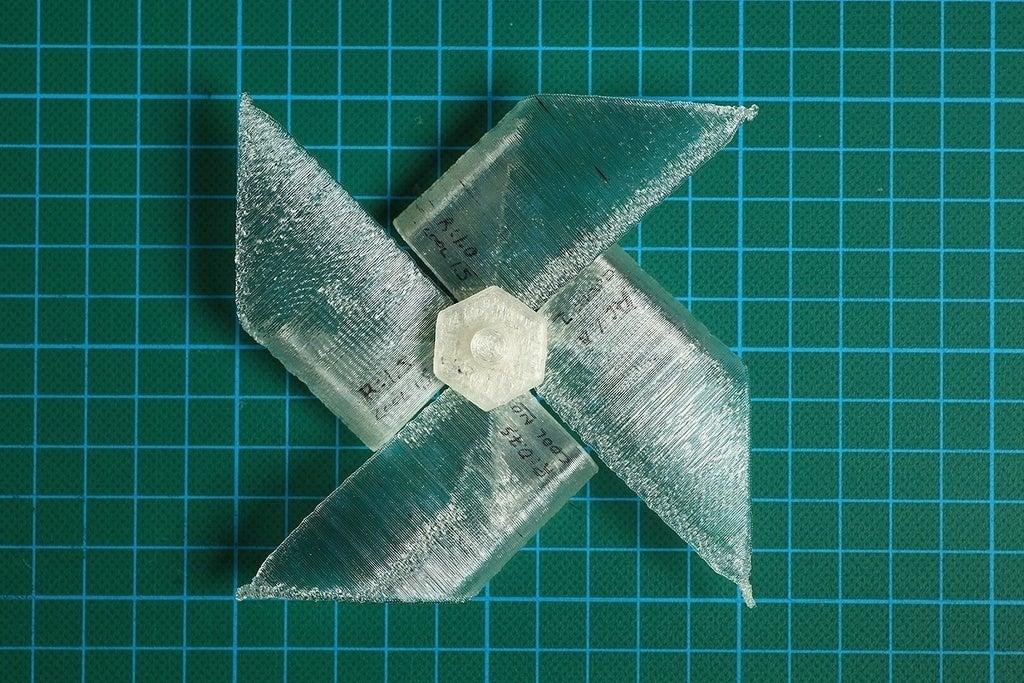 Img_3361_display_large.jpg Télécharger fichier STL gratuit Paper WindMill (test d'impression et d'essorage) • Plan imprimable en 3D, Wachet