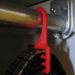 Download free 3D printing files Belt Hanger, Wachet