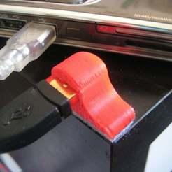 Download free STL Dummy USB port, Wachet