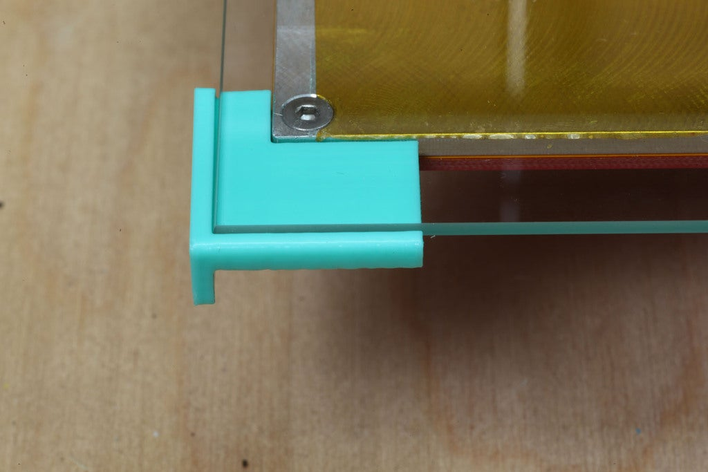 IMG_5734.jpg Download free SCAD file 240x180x2 mm Picture Frame Glass holder for Replicator • Template to 3D print, Wachet
