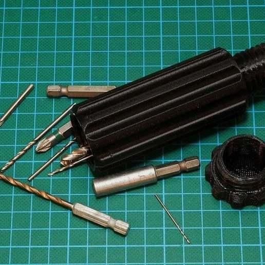Télécharger plan imprimante 3D gatuit Support de taraud Poignée creuse, Wachet