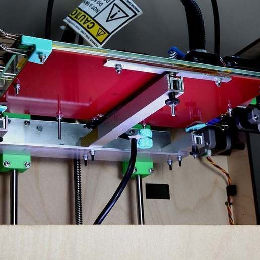 Download free 3D printing designs 3 Points Leveling for Makerbot Replicator, Wachet