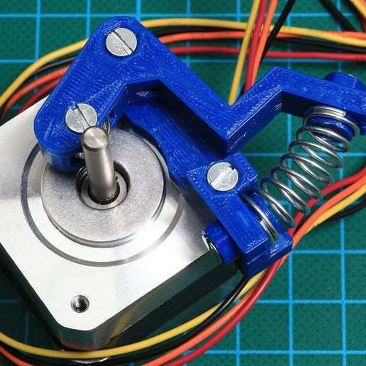 Download free 3D printer designs A Few Bits for Emmett's Minimalistic Mk8 replacement, Wachet