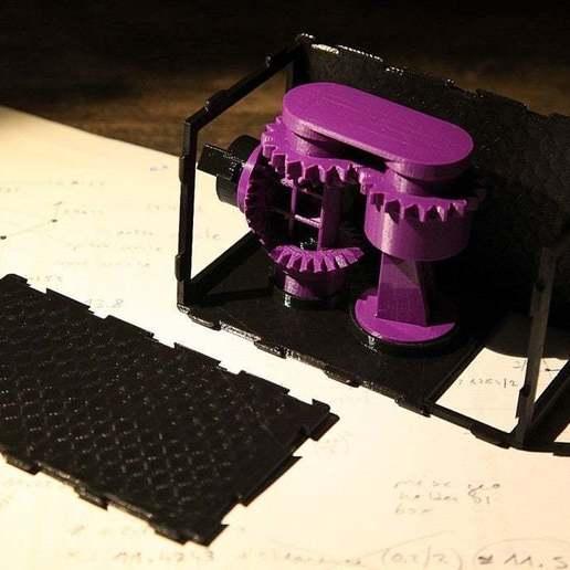 IMG_7444.jpg Download free STL file Coffee Grinder • 3D printer template, Wachet