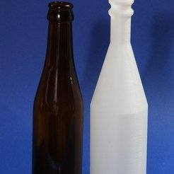 Impresiones 3D gratis Botella, Wachet