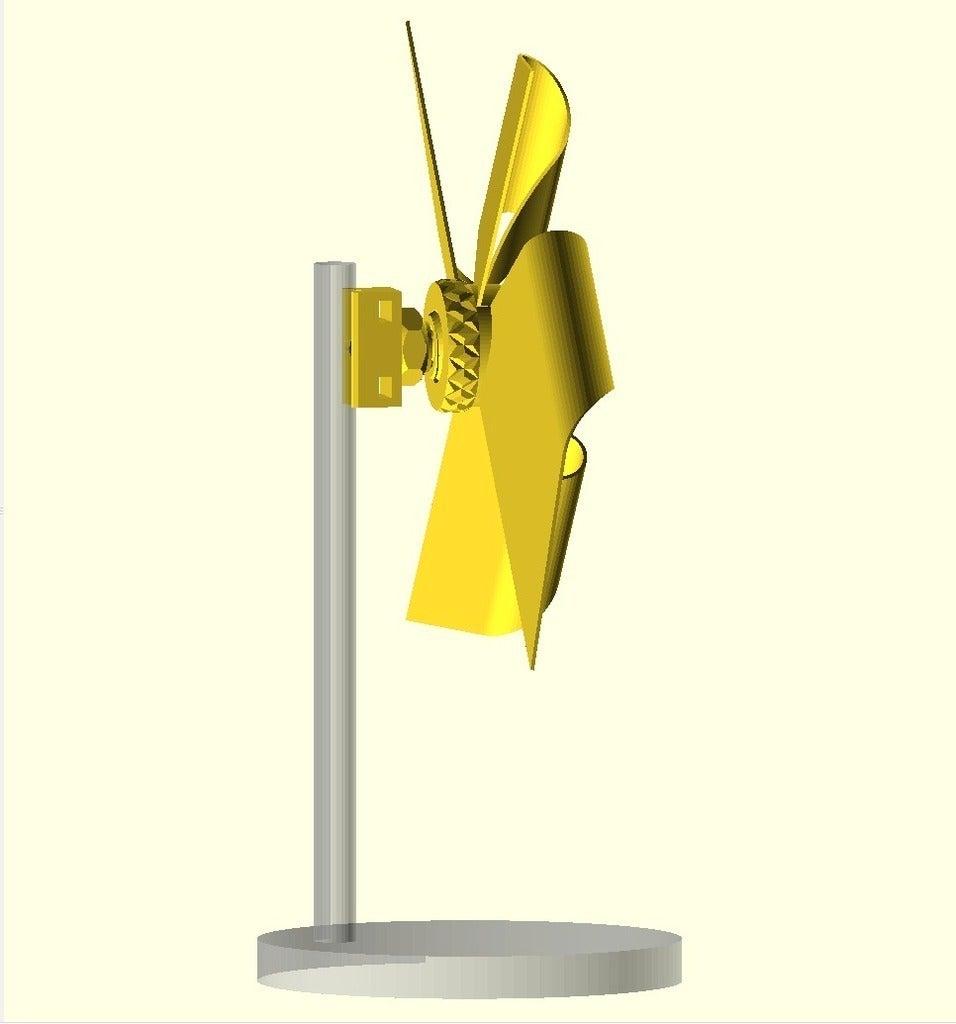 assembly_02_display_large.jpg Télécharger fichier SCAD gratuit Papier imprimé WindMill v0 • Modèle pour imprimante 3D, Wachet