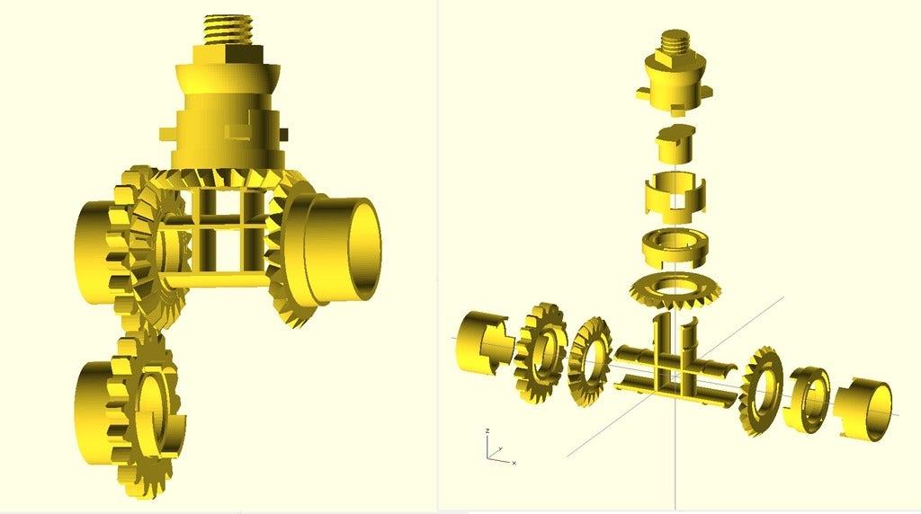 coffeGrinder_OpenSCAD.jpg Download free STL file Coffee Grinder • 3D printer template, Wachet