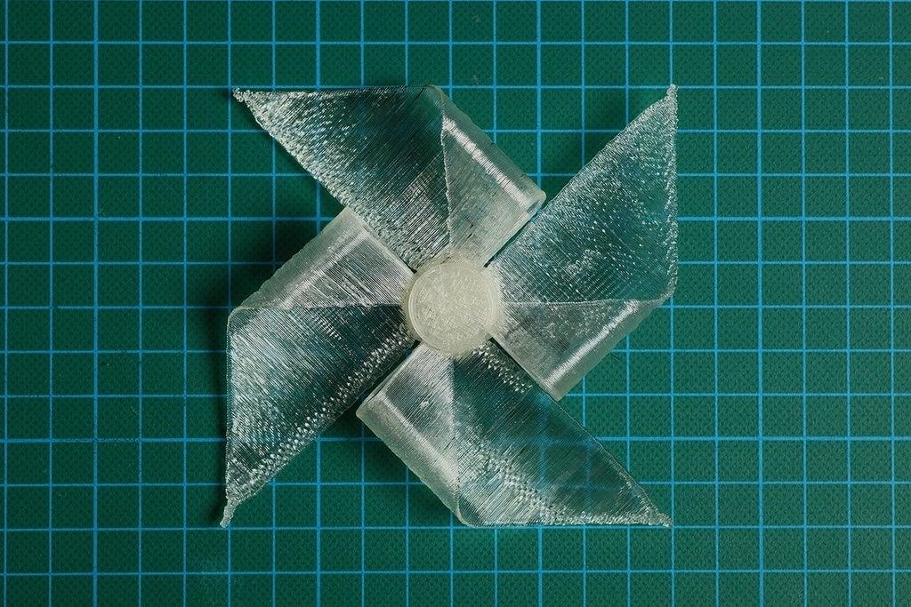 Img_3356_display_large.jpg Télécharger fichier STL gratuit Paper WindMill (test d'impression et d'essorage) • Plan imprimable en 3D, Wachet