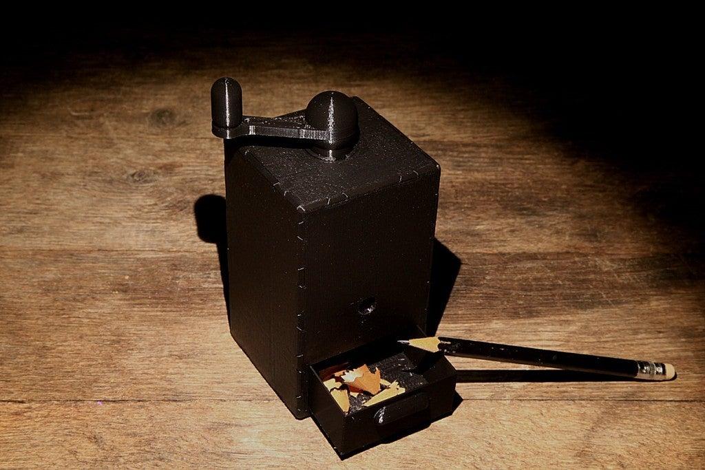 IMG_7455.jpg Download free STL file Coffee Grinder • 3D printer template, Wachet