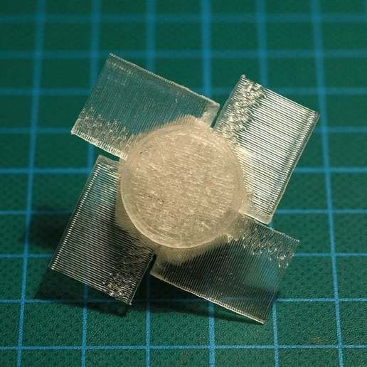 Télécharger fichier imprimante 3D gratuit Moulin à vent en papier (4 ailes dans le moyeu), Wachet