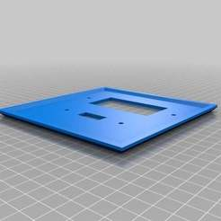 Download free 3D print files My Customized WALLY - Wall Plate Customizer, Nessun_Dorma